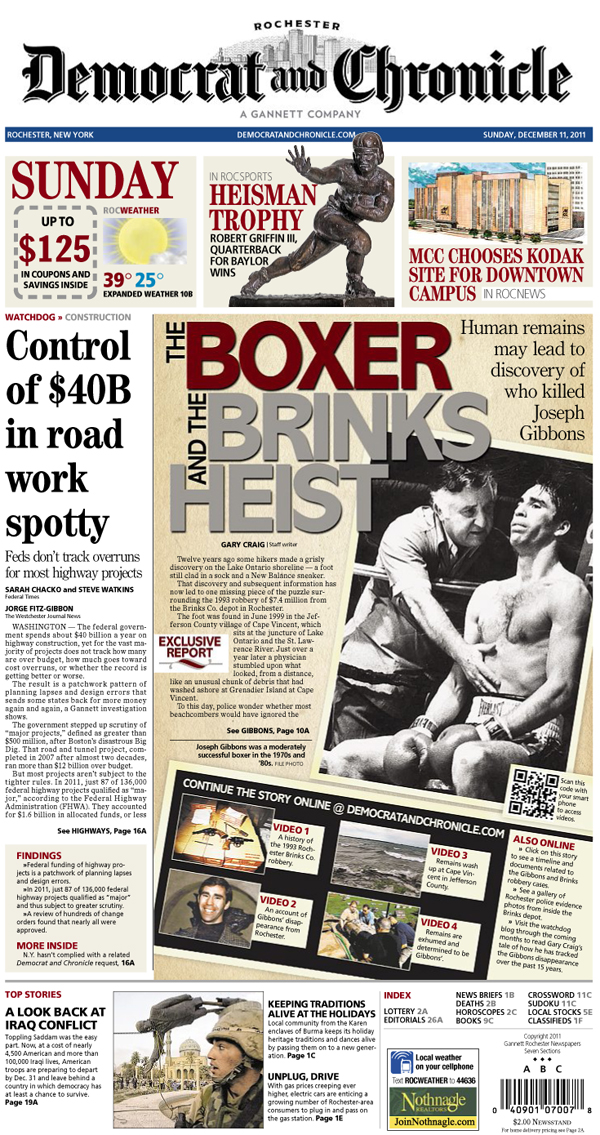 The boxer and the Brinks heist